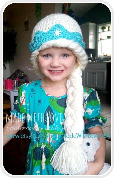 Easy Frozen Inspired Anna Elsa Crochet